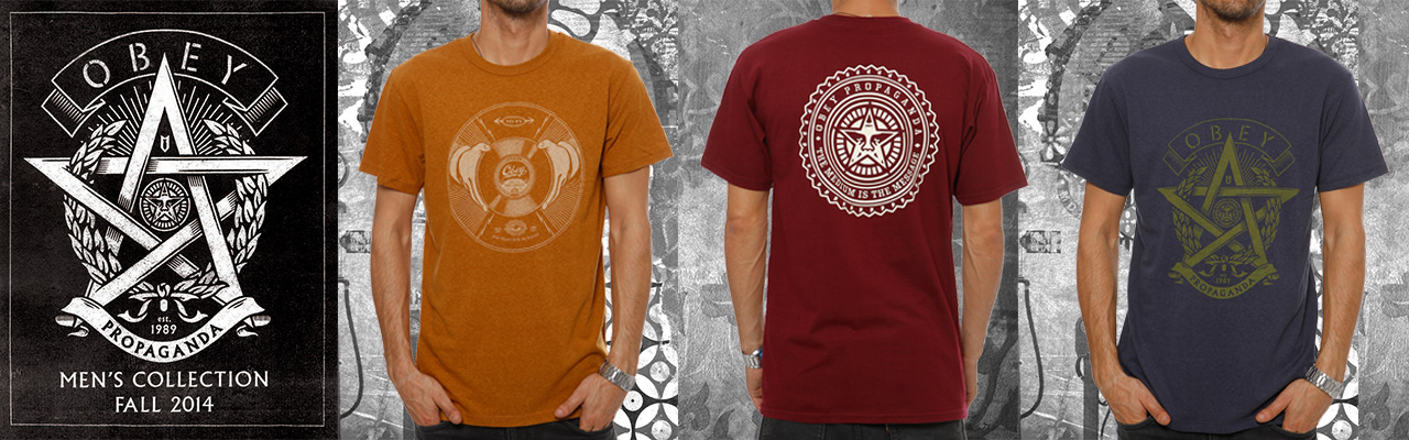 OBEY FALL TEES