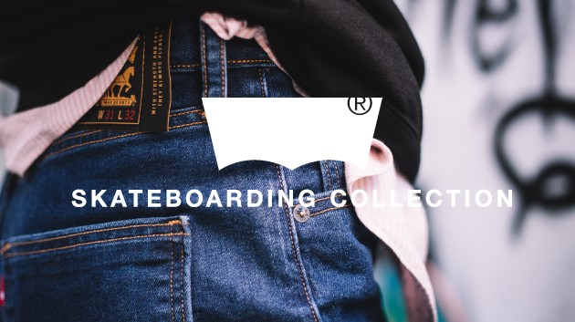 LEVIS SKATEBOARDING COLLECTION