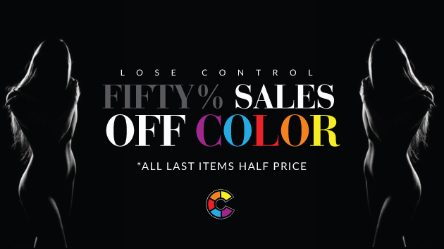 50 SALES OF COLOR