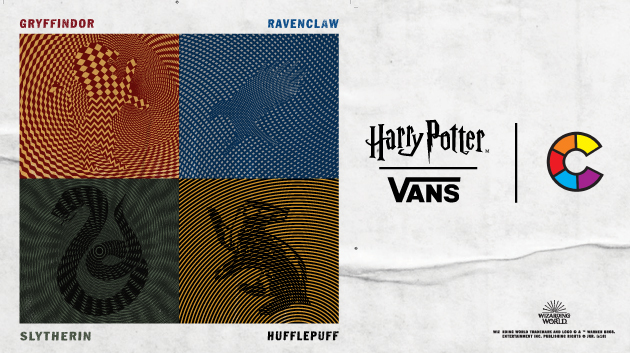 VANS X HARRY POTTER!