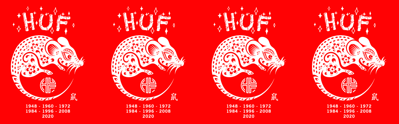 HUF YEAR OF THE RAT 2020