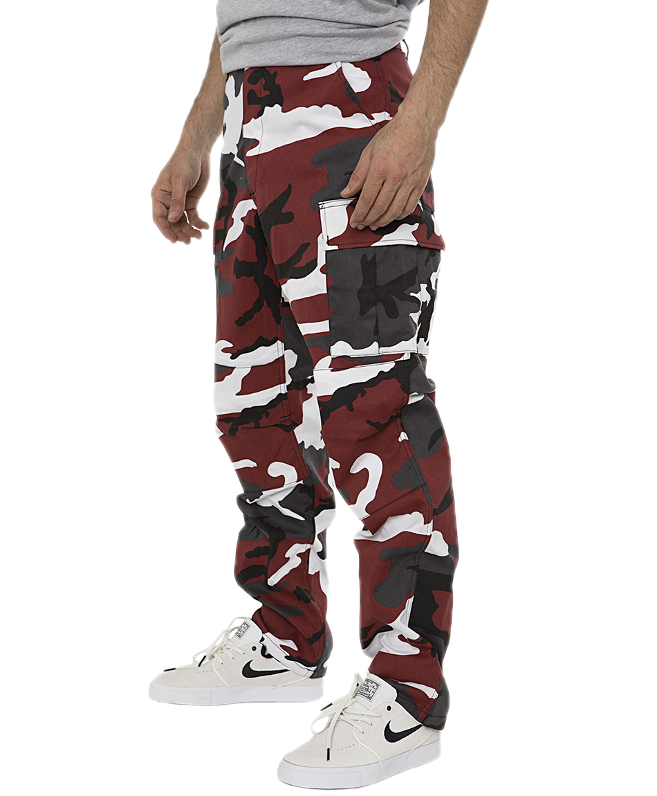 buy cheap famous brand new arrive COLOR I-5 CARGO PANTS RED CAMO | PANTS | Athens ...