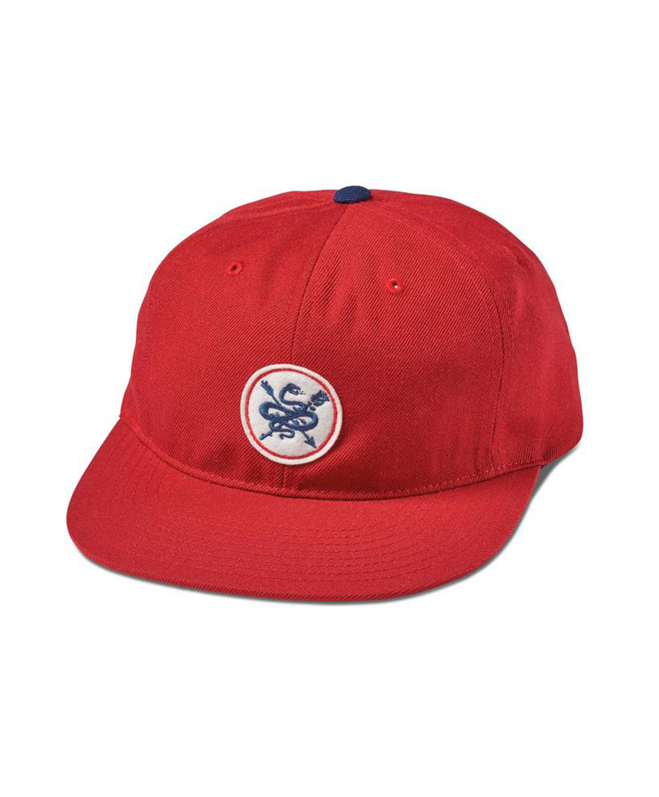 PRIMITIVE SERPENT SNAPBACK HAT RED MIDNIGHT  6cf3f96dd7b