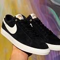 NIKE SB BLAZER LOW GRAND TAYLOR BLACK/SAIL
