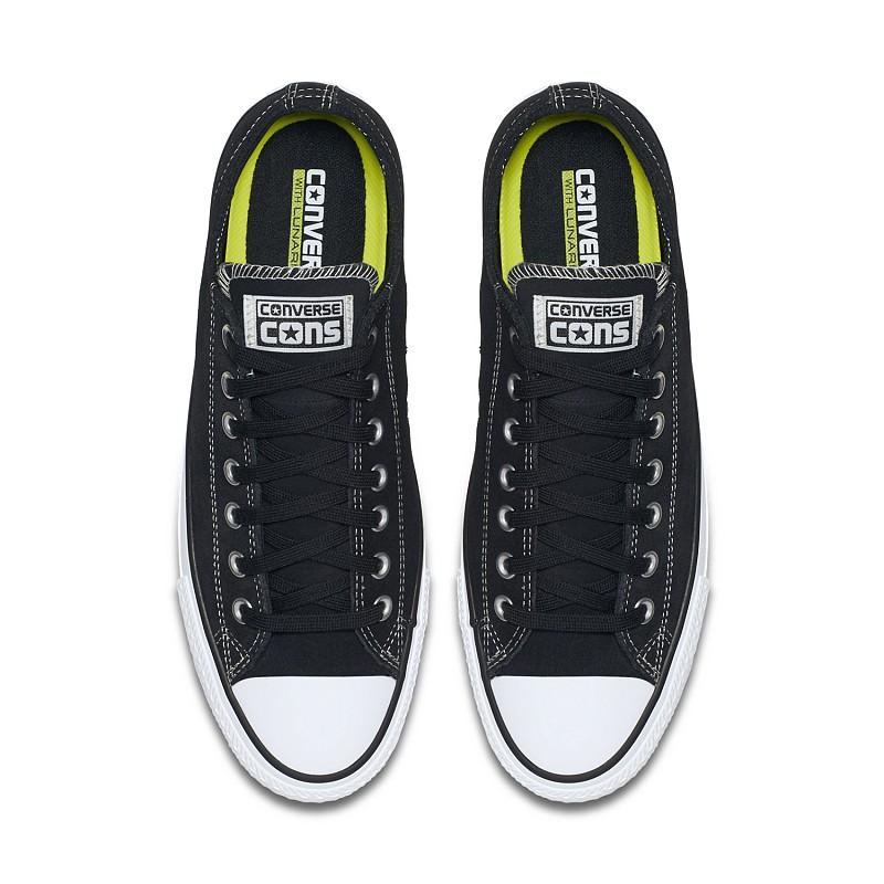 superior quality d1d8f f13c2 CONVERSE CONS CTAS PRO OX SUEDE LOW TOP BLACK | SHOES | Athens  Skateboardings Finest - colorskates.com